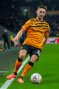 George Long of Hull City during the The FA Cup match between Hull City and Chelsea at the KCOM Stadium, Kingston upon Hull, England on 25 January 2020.