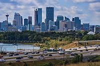 Calgary Skyline & Deerfoot Trail Highway
