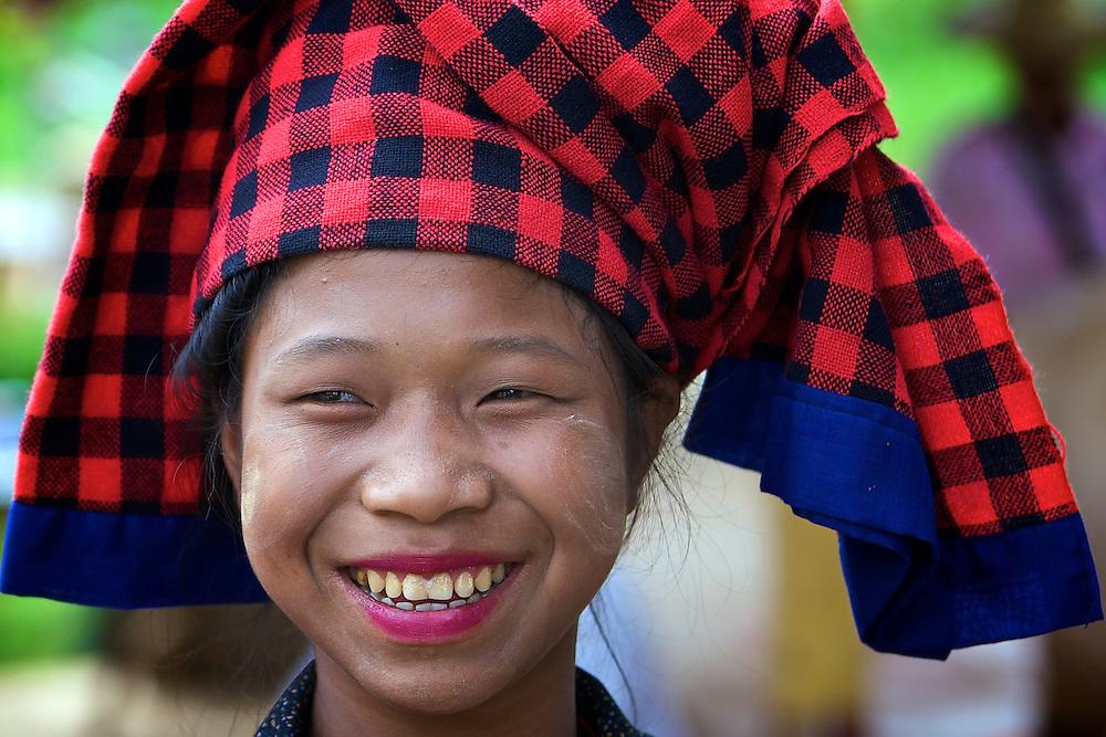Pa O woman, Inle Lake, Myanmar