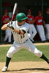 21 April 2007: Ricky Angel. Carthage College loses the first game of a double header by a score of 5-2 against the Illinois Wesleyan Titans.