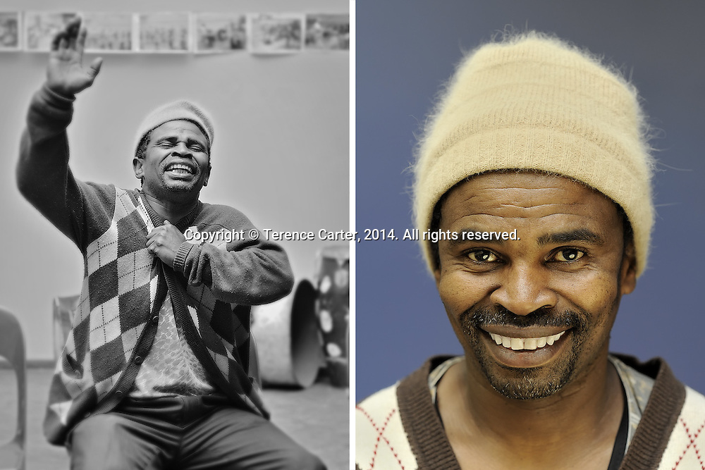 Monwabisi Sobitshi, actor, Cape Town, South Africa. Copyright 2014 Terence Carter / Grantourismo. All Rights Reserved.