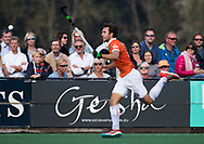 BLOEMENDAAL  - Manu Stockbroekx (Bldaal)    Hoofdklasse competitie heren, Bloemendaal-HGC (7-2). COPYRIGHT KOEN SUYK