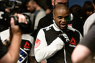 """GLASGOW, SCOTLAND, JULY 18, 2015:  Marcus Brimage enters the arena during """"UFC Fight Night 72: Bisping vs. Leites"""" inside the SSE Hydro Arena in Glasgow, Scotland (Martin McNeil for ESPN)"""