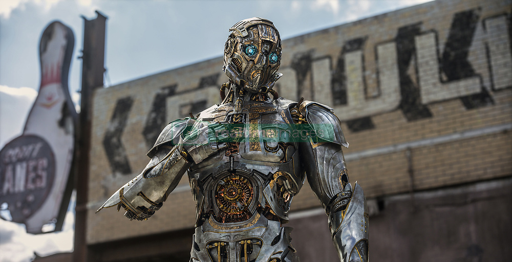 Cogman in TRANSFORMERS: THE LAST KNIGHT, from Paramount Pictures.