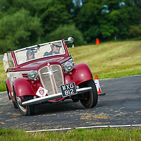 Charles Andrews and Francesca Andrews in the Arrive & Drive Adler Trumpf 1.7 EV  (A & D)  on the Royal Automobile Club 1000 Mile Trial 2015