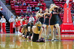NORMAL, IL - November 03: Redline Dancers during a college basketball game between the ISU Redbirds  and the Augustana Vikings on November 03 2018 at Redbird Arena in Normal, IL. (Photo by Alan Look)