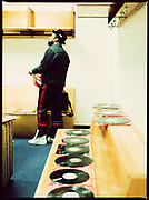 Jam Master Jay and his Records, Philadelphia 1980s