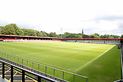 Salford City fc ground before the EFL Sky Bet League 2 match between Salford City and Port Vale at Moor Lane, Salford, United Kingdom on 17 August 2019.