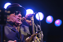 Cheltenham Jazz Festival, Cheltenham, United Kingdom, Van Morrison performs at Cheltenham Jazz Festival 2013. Van Morrison is joined by his live band to play classics from his award-winning back catalogue alongside new material from his latest album Born to Sing: No Plan B. Monday 06 May, 2013, Photo by: i-Images