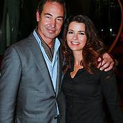 NLD/Amsteram/20121024- Presentatie biografie Joop van den Ende, Caroline de Bruijn en partner Eric de Vogel