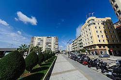 Street scene in Santander, Spain<br /> <br /> (c) Andrew Wilson   Edinburgh Elite media