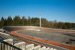 Velodrome centre on February 25, 2014 in Cesca vas at Novo mesto, Slovenia. Photo by Vid Ponikvar / Sportida