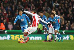 Bojan Krkic of Stoke City misses a penalty - Mandatory by-line: Jack Phillips/JMP - 19/11/2016 - FOOTBALL - Bet365 Stadium - Stoke-on-Trent, England - Stoke City v Bournemouth - Premier League