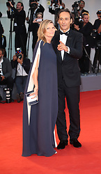 Alexandre Desplat  and Dominique Lemonnier walks the red carpet ahead of the 'The Shape Of Water' screening during the 74th Venice Film Festival in Venice, Italy, on August 31, 2017. (Photo by Matteo Chinellato/NurPhoto/Sipa USA)
