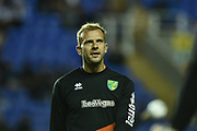 Norwich City Forward, Jordan Rhodes (11) during the EFL Sky Bet Championship match between Reading and Norwich City at the Madejski Stadium, Reading, England on 19 September 2018.
