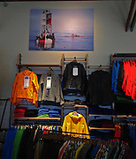 40x60 Canvas print in Patagonia Store in Santa Cruz, California