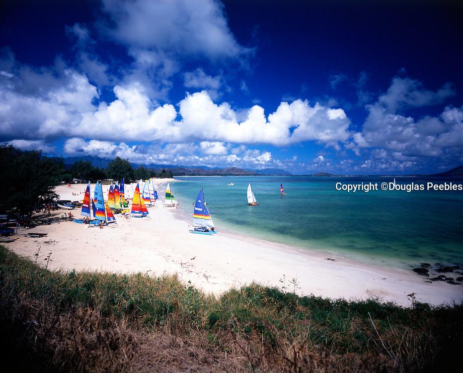 Hobie Catamaran, Kailua Beach, Oahu, Hawaii