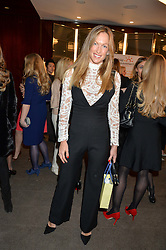 EMILY CROMPTON-CANDY at a ladies lunch in aid of the charity Child Bereavement UK held at The Bulgari Hotel, 171 Knightsbridge, London on 25th February 2016.