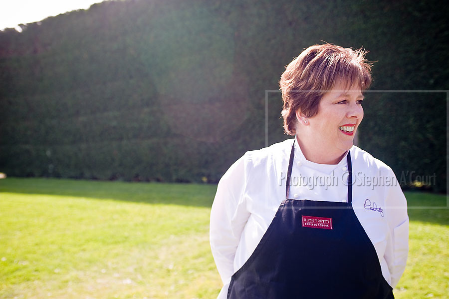 Coverage of a Ruth Pretty Catering cooking school session, at Springfield, Te Horo, NZ, for Eclipse magazine.