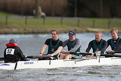 2012.02.25 Reading University Head 2012. The River Thames. Division 1. Maidenhead Rowing Club B IM3 8+