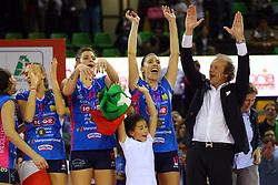 11-05-2017 ITA: Finale Liu Jo Modena - Igor Gorgonzola Novara, Modena<br /> Novara heeft de titel in de Italiaanse Serie A1 Femminile gepakt. Novara was oppermachtig in de vierde finalewedstrijd. Door een 3-0 zege is het Italiaanse kampioenschap binnen. / Francesca Piccinini<br /> <br /> ***NETHERLANDS ONLY***