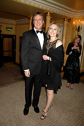 Actor STEPHEN TOMKINSON and ELAINE YOUNG at the Chain of Hope Ball held at The Dorchester, Park Lane, London on 4th February 2008.<br />
