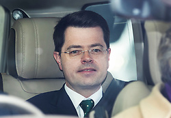 © Licensed to London News Pictures. 01/05/2019. London, UK. James Brokenshire, Secretary of State for Housing, Communities and Local Government, arrives at Parliament for Prime Minister's Questions. Photo credit: Peter Macdiarmid/LNP