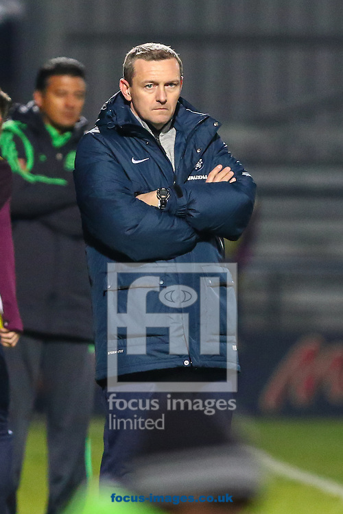 Aidy Boothroyd, Head Coach of England, U20 looks on during the International Friendly match against Mexico U20 at The Hive Stadium, Harrow<br /> Picture by David Horn/Focus Images Ltd +44 7545 970036<br /> 25/03/2015