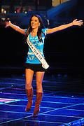 """November 22, 2009; Rancho Mirage, CA, USA; Miss California Teen USA 2009 Chelsea Gilligan during the Miss California Teen USA 2010 Pageant at """"The Show"""" at the Agua Caliente Resort & Spa. Mandatory Credit: Kyle Terada-Terada Photo"""