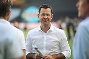 14th January 2019, Melbourne Cricket Ground, Melbourne, Australia; Australian Big Bash Cricket, Melbourne Stars versus Hobart Hurricanes; Australian cricket legend, Ricky Ponting