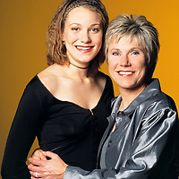 Dawn  & Anne Murray, celebrity portrait