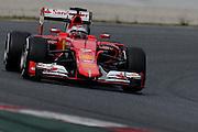 February 26-28, 2015: Formula 1 Pre-season testing Barcelona : Kimi Raikkonen (FIN), Ferrari