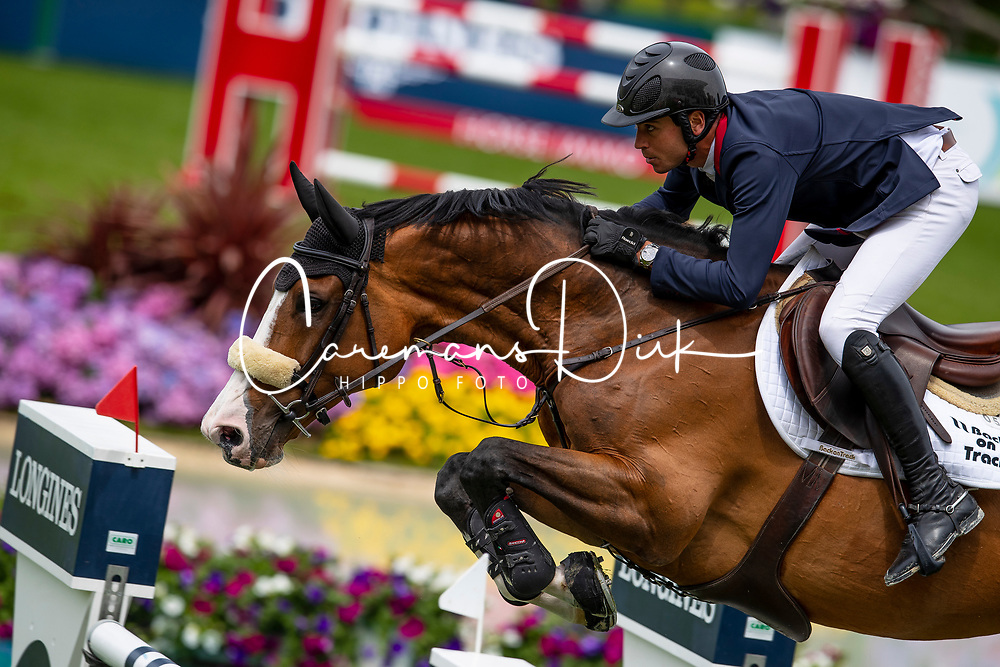 Levy Edward, FRA, Rebeca LS<br /> Jumping International de La Baule 2019<br /> © Dirk Caremans<br /> 16/05/2019