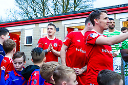 Scott Brown of Accrington Stanley - Mandatory by-line: Robbie Stephenson/JMP - 17/04/2018 - FOOTBALL - Wham Stadium - Accrington, England - Accrington Stanley v Yeovil Town - Sky Bet League Two