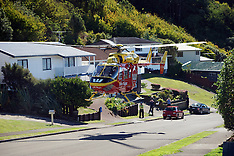 Wellington-Rescue helicopter closes Tawa street for patient