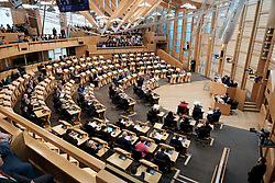 First Minister's Questions in the Scottish Parliament<br /> <br /> Thursday, 19th September 2019<br /> <br /> Pictured: The Debating Chamber<br /> <br /> Alex Todd | Edinburgh Elite media