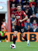 Adam Smith (15) of AFC Bournemouth during the Premier League match between Bournemouth and Norwich City at the Vitality Stadium, Bournemouth, England on 19 October 2019.