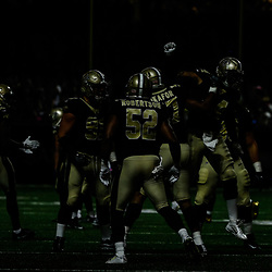 Oct 15, 2017; New Orleans, LA, USA; New Orleans Saints players celebrate after a touchdown against the Detroit Lions during the first quarter of a game at the Mercedes-Benz Superdome. Mandatory Credit: Derick E. Hingle-USA TODAY Sports