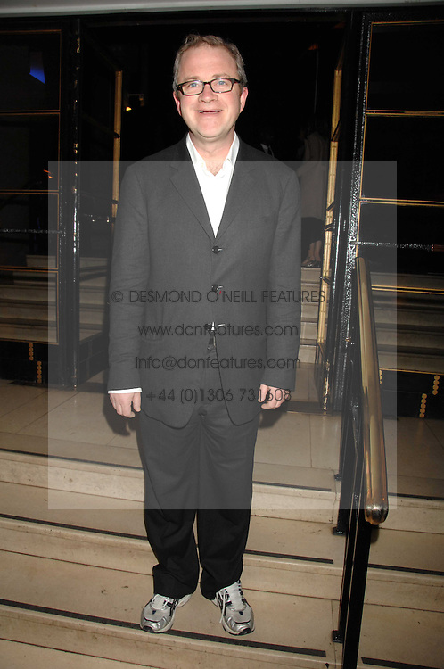 HARRY ENFIELD at 'Figures of Speech' a fundraising gala dinner in aid of the ICA held at the Lawrence Hall, Greycoat Street, London on 27th February 2008.<br />