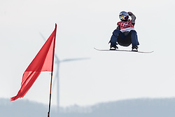 19.02.2018, Alpensia Ski Jumping Centre, Pyeongchang, KOR, PyeongChang 2018, Snowboard, Damen, Big Air, im Bild Miyabi Onitsuka (JPN) // Miyabi Onitsuka of Japan during the Ladies Snowboard Big Air of the Pyeongchang 2018 Winter Olympic Games at the Alpensia Ski Jumping Centre in Pyeongchang, South Korea on 2018/02/19. EXPA Pictures © 2018, PhotoCredit: EXPA/ Johann Groder