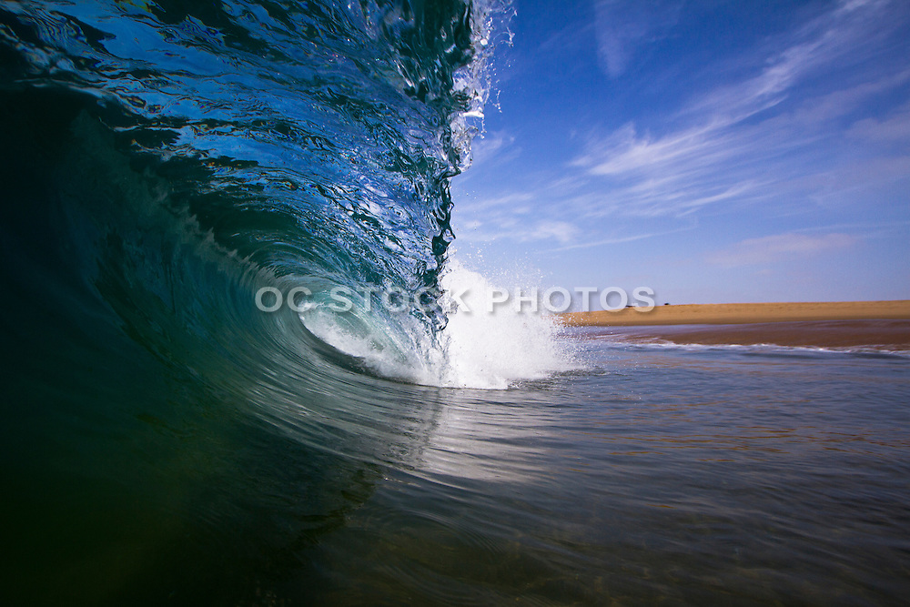 Waves at the Wedge in Newport Beach