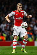 Calum Chambers of Arsenal during the UEFA Champions League match at the Emirates Stadium, London<br /> Picture by David Horn/Focus Images Ltd +44 7545 970036<br /> 27/08/2014