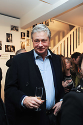 The MARQUESS OF WORCESTER at a private view of photographs by Nick Ashley held at the Sladmore Gallery, 32 Bruton Place, London on 13th January 2010.