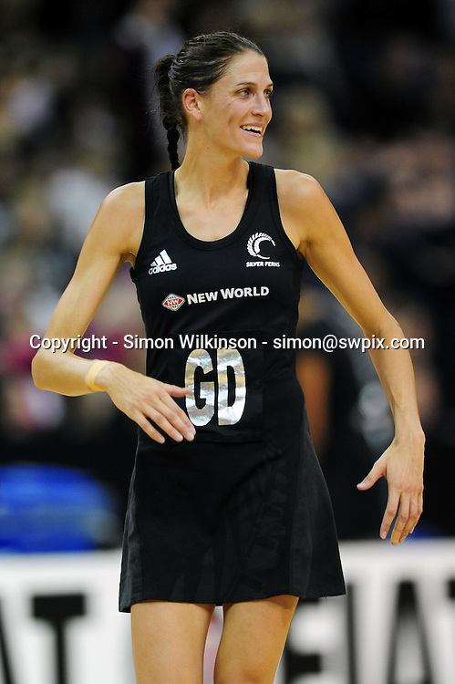 PICTURE BY ALEX BROADWAY/SWPIX.COM. Netball -  Fiat International Netball Series - England v New Zealand - The 02 Arena, London, England - 19/01/11.<br />