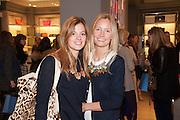 SERENA NIKKHAH; MARTHA WARD, Smythson Sloane St. Store opening. London. 6 February 2012.