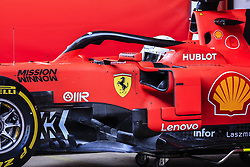 March 1, 2019 - Barcelona, Barcelona, Spain - Sebastian Vettel from Germany with 05 Scuderia Ferrari Mission Winnow SF90 in action during the Formula 1 2019 Pre-Season Tests at Circuit de Barcelona - Catalunya in Montmelo, Spain on March 1. (Credit Image: © Xavier Bonilla/NurPhoto via ZUMA Press)