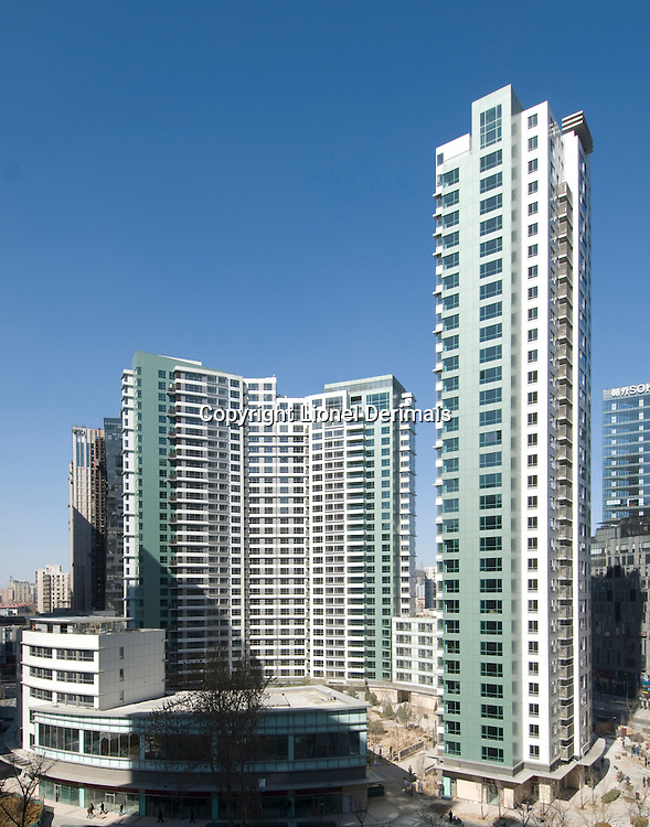 Central Park apartments complex in Beijing, China.