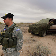 Looking for migrants with the Patriot Border Alliance near Sasabe, Arizona. Immigration along the USA-Mexico border.