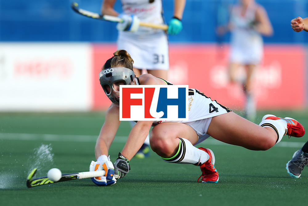 New Zealand, Auckland - 24/11/17  <br /> Sentinel Homes Women&rsquo;s Hockey World League Final<br /> Harbour Hockey Stadium<br /> Copyrigth: Worldsportpics, Rodrigo Jaramillo<br /> Match ID: 10307 - ARG-GER<br /> Photo: (4) LORENZ Nike