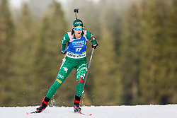 Lisa Vittozzi (ITA) during Women 15km Individual at day 5 of IBU Biathlon World Cup 2018/19 Pokljuka, on December 6, 2018 in Rudno polje, Pokljuka, Pokljuka, Slovenia. Photo by Ziga Zupan / Sportida